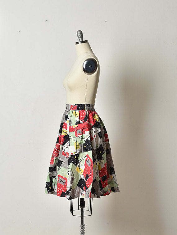 The Flower Market Skirt