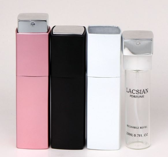 20ml Anodized Aluminum Refillable