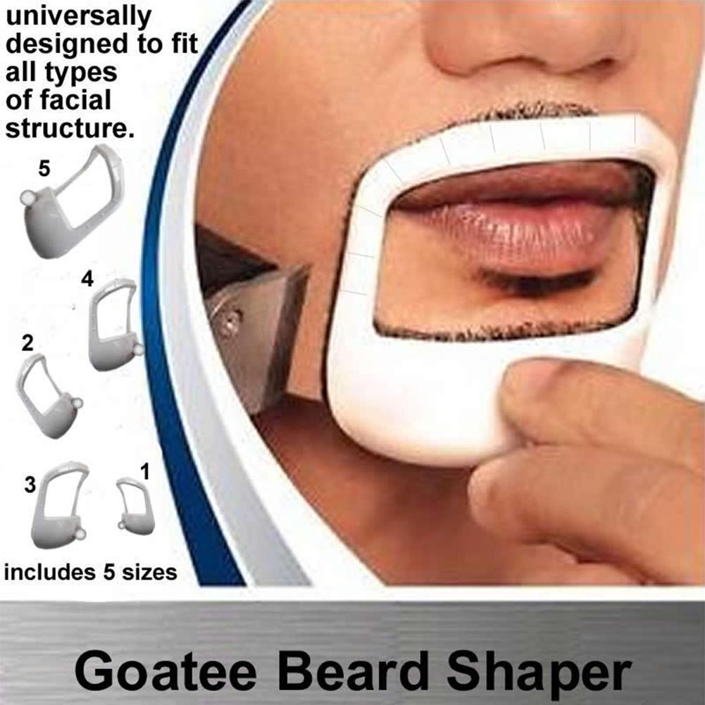 Mens Goatee Shaving Template