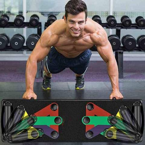PUSH UP BOARD 9 IN 1 SYSTEM