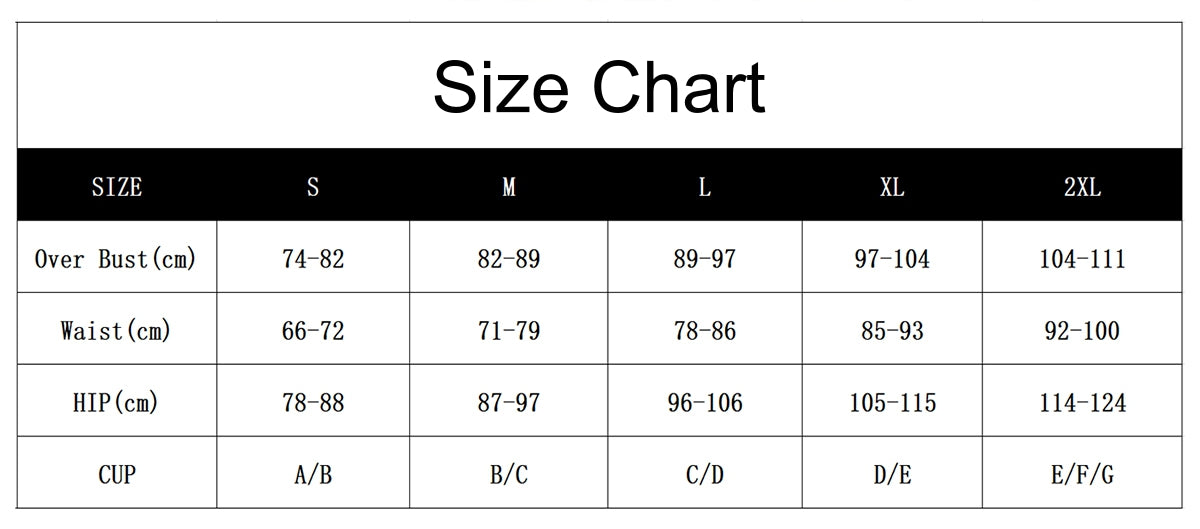 high waisted tankini set size chart