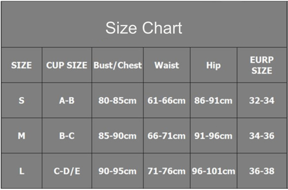 cropped short sleeve shirt bikini set size chart