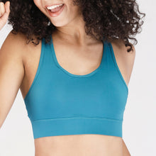 Load image into Gallery viewer, Adjustable Wide Strap Back Mesh Sports Bra