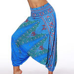 Hummingbird Bohemian Baggy Yoga Pants made of fast dry, soft and breathable material. Perfect for meditation, dancing, yoga and summer vacation