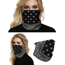Load image into Gallery viewer, Hummingbird Seamless Bohemian Bandana Face Mask