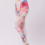 Digital Printing High Waisted Cropped Yoga Leggings