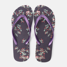 Load image into Gallery viewer, Floral Flip-flops