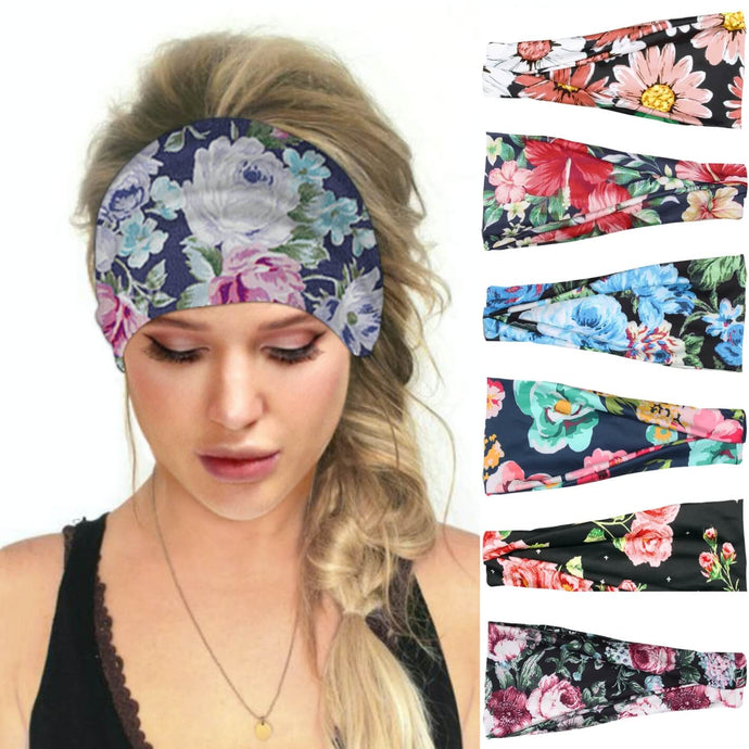 Hummingbird Floral Print Multifunctional Headband (7 Patterns) offers a secure fit to hold your hair back, and along with moisture-wicking fabric, allows you to stay fresh and focused on your workout. Perfect for all sorts of workout activities. Also suitable for daily wear as a hair band, head wrap, bandana, face cover, morning makeup and nighttime moisturizing.