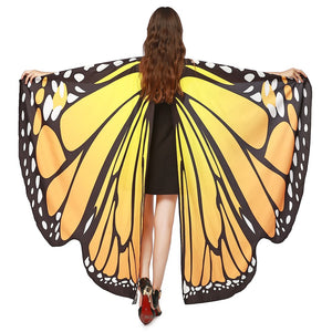 Hummingbird Flowy Butterfly Wings For Adults Kids