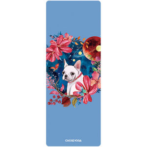 Hummingbird Kitty & Puppy Foldable Yoga Mat