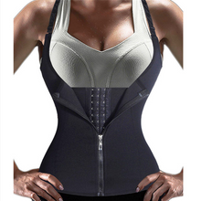 Load image into Gallery viewer, Hummingbird Front Zip Adjustable Corset Vest