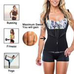 Hummingbird Front Zip Adjustable Corset Vest