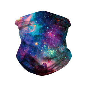 Hummingbird Seamless Galaxy Bandana Face Mask - Galaxy C