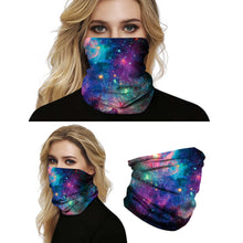Load image into Gallery viewer, Hummingbird Seamless Galaxy Bandana Face Mask - Galaxy C