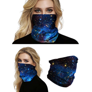 Hummingbird Seamless Galaxy Bandana Face Mask - Galaxy E