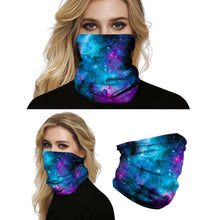 Load image into Gallery viewer, Hummingbird Seamless Galaxy Bandana Face Mask - Galaxy B