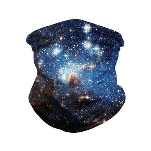 Hummingbird Seamless Galaxy Bandana Face Mask - Galaxy F