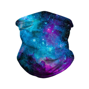 Hummingbird Seamless Galaxy Bandana Face Mask - Galaxy B