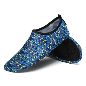 Hummingbird Geometric Print Minimalist Water Shoes