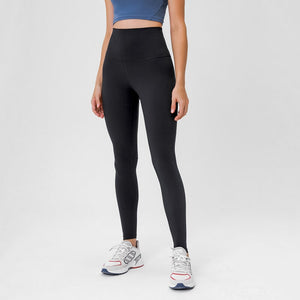 Complete the studio to street look with these Solid High Waist Hidden Pocket Leggings - Black. Featuring high rise waistband with a hidden key pocket, these fitted workout leggings are perfect for yoga, weightlifting, jogging and more, as well as running errands. Buttery soft material with a brushed feel is breathable and moisture-wicking. Ultra high waist is a perfect match with longline crop tops like our V Neck Crop Tank Longline Sports Bra.