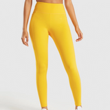 High Waisted Cropped Sports Leggings