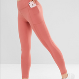 High Waisted Cropped Leggings