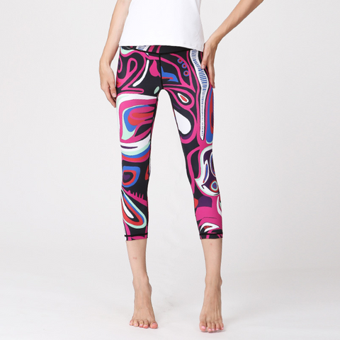 Illusion Cropped Leggings