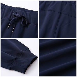 Loose Fit Pocket Drawstring Joggers (5 Colors)