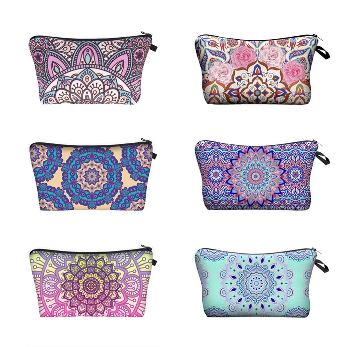 Bohemian Mandala Makeup Bag (6 Patterns)