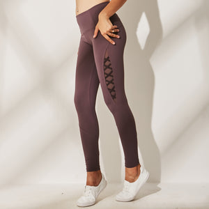 Hummingbird Mesh & Ribbon Leggings