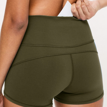 Load image into Gallery viewer, Hummingbird Micro Bike Shorts With Pocket. Made of peached fabric, which is smooth, breathable and sweat absorbent. Perfect workout / yoga wear in Summer