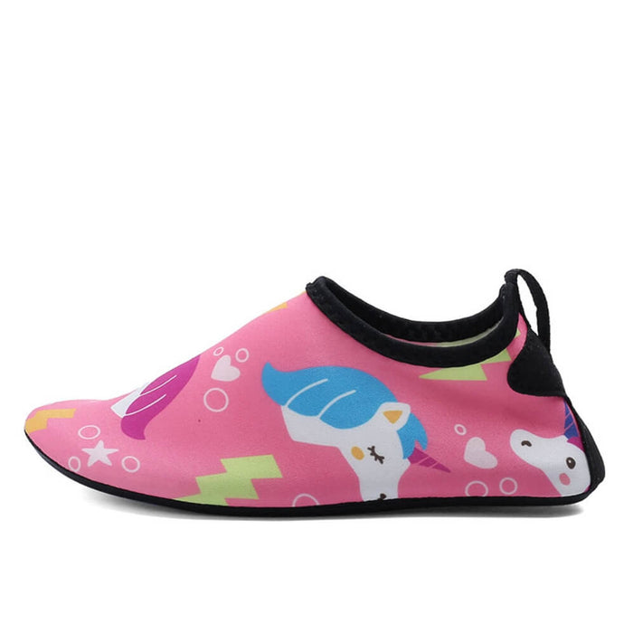 Hummingbird Minimalist Water Shoes For Kids (2 Infant - 4 Big Kid) - Unicorn