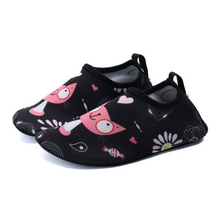 Load image into Gallery viewer, Hummingbird Minimalist Water Shoes For Kids (2 Infant - 4 Big Kid) - Kitty