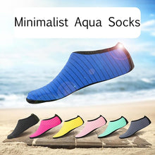Load image into Gallery viewer, Solid Color Aqua Socks For Adults Kids