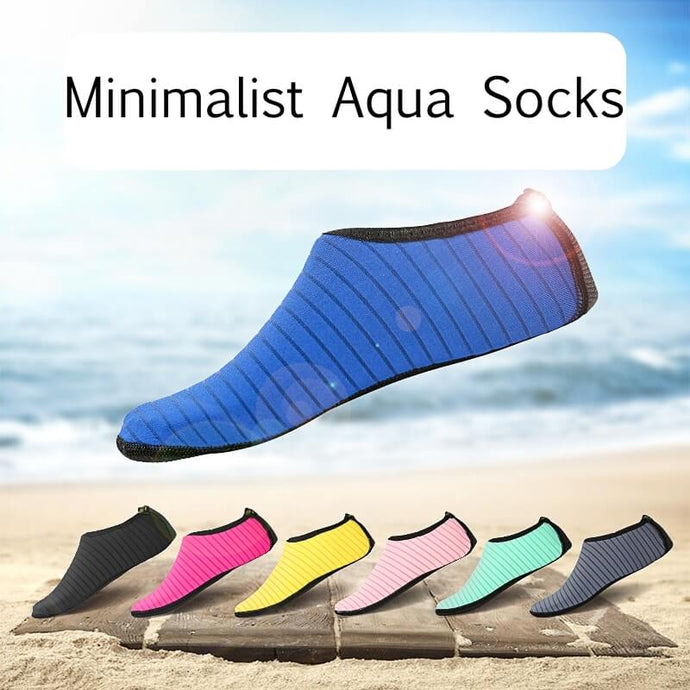 Solid Color Aqua Socks For Adults Kids