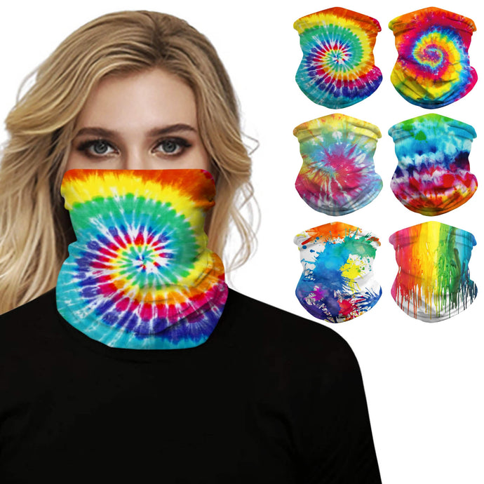 This Rainbow Print Multifunctional Neck Gaiter is so versatile that there are 16+ ways to wear it - neckerchief, headband, wristband, mask, hair-band, balaclava, face mask, face scarf, seamless mask, beanie, bandana, mouth mask, neck gaiter and more. Perfect for all sorts of outdoor activities including hiking, fishing, skiing, cycling, skating etc with UV protection and odor control.