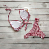 Ruffled Underwire Bikini Set