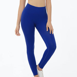 Hummingbird Ribbed Seamless High Waisted Leggings - Royal Blue are available as individual items.