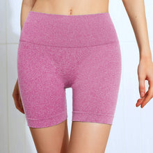 Load image into Gallery viewer, Hummingbird Seamless High Waisted Biker Shorts with underbutt panels - Pink