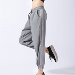 Side Cut Out Drawstring Loose Fit Joggers
