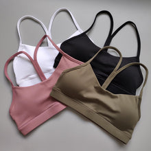 Load image into Gallery viewer, Solid Y Racerback Strappy Sports Bra (7 Colors)