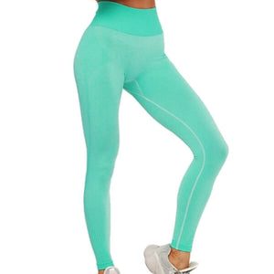 Solid & Striped Seamless Sports Set (5 Colors)