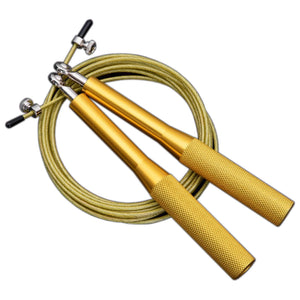 Omnidirectional Bearing Jump Rope Set - Gold