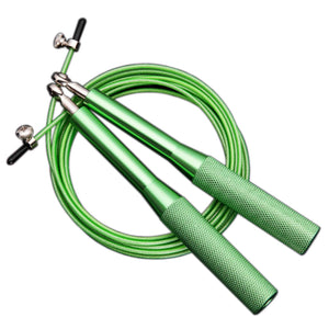 Omnidirectional Bearing Jump Rope Set - Green