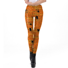 Load image into Gallery viewer, Hummingbird Spider Print Leggings