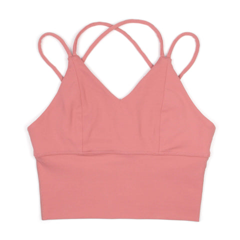 Hummingbird Strappy Padded Tank Top
