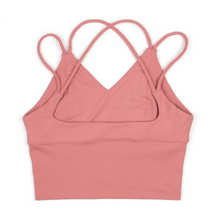 Load image into Gallery viewer, Hummingbird Strappy Padded Tank Top