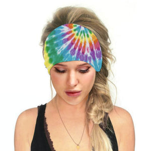 Hummingbird Tie Dye - E Print Multifunctional Headband offers a secure fit to hold your hair back, and along with moisture-wicking fabric, allows you to stay fresh and focused on your workout. Perfect for all sorts of workout activities. Also suitable for daily wear as a hair band, head wrap, bandana, face cover, morning makeup and nighttime moisturizing. This Tie Dye Print Multifunctional Headband is lightweight, breathable, odor control, stretchy and soft.