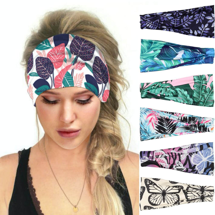 Hummingbird Tropical Printed Multifunctional Headband (7 Patterns) offers a secure fit to hold your hair back, and along with moisture-wicking fabric, allows you to stay fresh and focused on your workout. Perfect for all sorts of workout activities. Also suitable for daily wear as a hair band, head wrap, bandana, face cover, morning makeup and nighttime moisturizing.