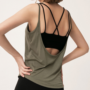 Hummingbird U Back Tank Top made of soft and breathable material